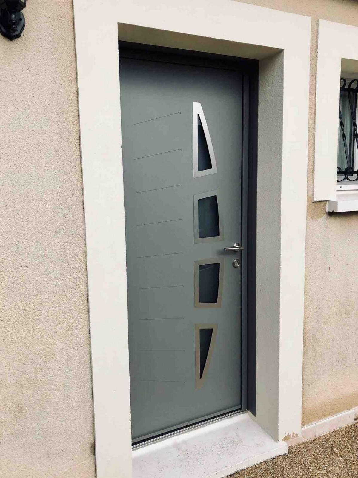 Porte D 39 Entr E Design S Curis E K Line Sur Carry Le Rouet
